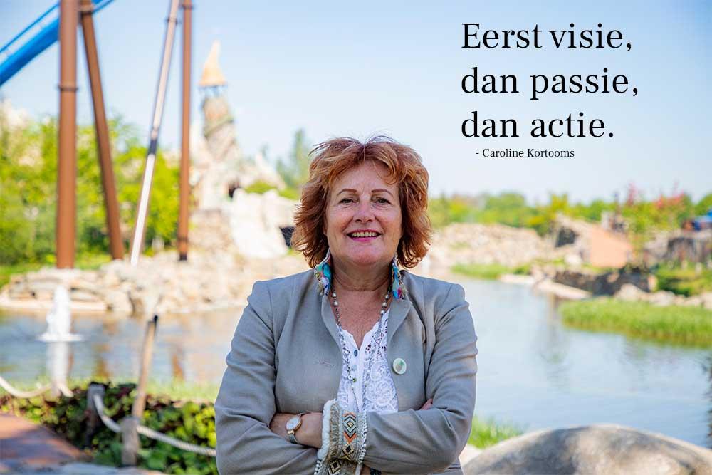 Eerste visie, dan passie, dan actie | Caroline Kortooms